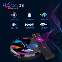 H96 MAX X3 Android 9. 0 TV BOX Amlogic S905X3 4GB 128GB 2. 4G ...