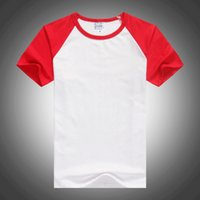 Short sleeve round neck solid color blank T- shirt NX10137