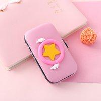 Forbici regalo di Natale Clipper Sailor Moon Luna Card Captor Sakura Card Captor Rosa Fumetto sveglio del 7 pz Set chiodo dell'acciaio inossidabile
