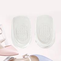 Livraison gratuite en gros hobbaggo 1 paire de coussin de massage semelle talon silicone insert pad NOUVEAU Massager