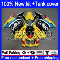 + réservoir pour KAWASAKI ZX250R EX250 ZX250R 08 09 10 11 12 201MY.57 EX250 noir jaune ZX 250R EX 250 EX250R 2008 2009 2010 2011 2012 carénages