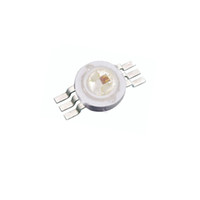 20X Hight quality six pin 3W RGB LED chip 6 pin rgb diode le...