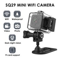 SQ29 Mini Cámara IP Visión nocturna Visión a prueba de agua Motion DVR Micro Camera Sport DV con cáscara impermeable vs SQ11 Cámara