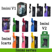 100 % 기존 Imini V1 V2 icarts 키트 (0.5 / 1.0ml 카트리지 포함) 예열 배터리 모듈 적합 Liberty 카트리지 대 Vmod Palm 배터리