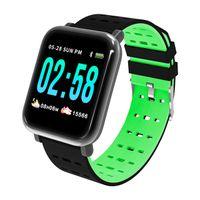 A6 relógio inteligente da banda pulseira Reloj Inteligente Pulsometro Ritmo Cardi de Fitness Rastreador Controle Remoto Smartwatch Waterproof pulseira relógio