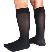 Dodorant et humidité Soik Silk Chaussettes Printemps Hiver Hommes Chaussettes d'affaires 1 Pair / Lot Subred Nylon Soft Formel Robe Vositions Longues Chaussettes