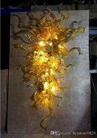 AC 110 V 240 V Customized gebrannter Glasleuchter-Licht für Haus-Dekoration Moderne künstlerische Lampen mit LED-Bubbles