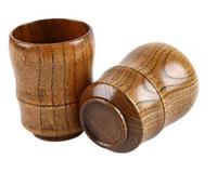5oz бокалов Натуральный Массивная деревянная чашка чая