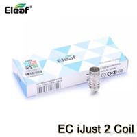 Eleaf iJust 2 EC 2 코일 용 교체 코일 Melo Lemo 3 탱크 0.3ohm 0.5ohm 100 % Authentic Electronic Cigarette Coil