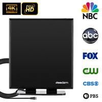 40 Millas soporte de antena de televisión digital de alta definición HDTV Antena interior UHF / VHF / 1080P 3D 4K largo Rang con el soporte de la nave base de EE.UU.
