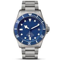 -automatische mechanische Uhren hohle klassischen Stil 42mm Volledelstahlband 5 ATM wasserdicht Saphir Superleucht