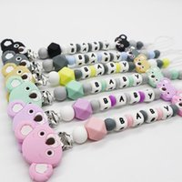 NEW Koala Personalized Name Pacifier Clips Nipple Holder Soo...