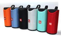 2020 Speakers TG113 Bluetooth sem fio Subwoofers Handsfree Chamada Perfil Stereo Baixo Suporte TF USB 1200mAh Cartão AUX Line In Hi-Fi