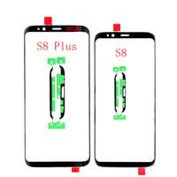 Samsung Galaxy S8 S9 Artı LCD Dokunmatik Ekran Ön Cam Dış Lens için 10 Ad OEM Kalite Yedek Dış Cam