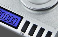 50g Bilancia elettronica Grams 0.001 Bilancia di laboratorio ad alta precisione Bilancia da tasca digitale Bilancia portatile Mini gioielli Bilancia