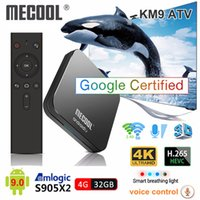 [Google Certified]Mecool KM9 Pro ATV Android 9. 0 Smart TV Bo...