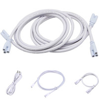 Extension lamp cord with 3 pin connectors led tube light cab...