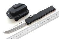 """Hochwertige MIKER CNC-Messer Messer (4,5 """"Satin) einzelne D2-Klinge aus Aluminiumlegierung Griff Taktisches Messer Überlebensausrüstungsmesser EDC-Werkzeuge"""