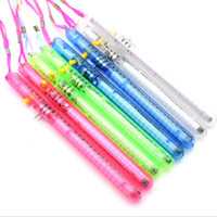 Colorful LED Flashing Light Glow Wand Stick Birthday Soiree ...