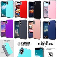 For iPhone X Xr Xs Max 8 Rugged Dual Layer Armor Case Shockp...
