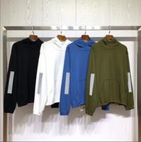 Reflektieren Licht Herren Stylist Hoodies Unsex-Buchstaben Druck Pullover Männer Frauen Sweatshirt mit Kappe Marken Hoodie Luxurys Sweatsheilerts Langärmelige Stricksackswear