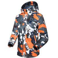 Fashion- CANDOMOM Winter Jacket Men Camouflage Softshell Giacche impermeabili all'aperto Therma Ciclismo amanti della pesca Vestiti