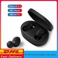 Bluetooth Headset with Mic Charging Box for Cellphone True S...