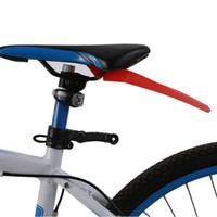 Nouveau vélo Ailes Course cycliste Route Garde-boue banlieue de selle amovible Pièces boue vélo Fender