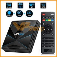 HK1 Super Android 9.0 CAIXA de TV Inteligente Google Assistente RK3318 4 K 3D Utral HD 4G RAM 128 GB 64 GB 32 GB 16 GB TV Wifi Play Store set top box