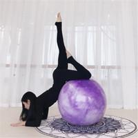 3 couleur 65CM ballon de yoga fitness antidéflagrant ballon auxiliaire durable anti-pression nouveau support lot mélangé livraison gratuite