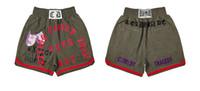 20s novos populares bordados mkszy shorts homens mulheres calças de alta qualidade