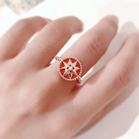 925 quality jewelry high sterling silver rings Plating 14k r...
