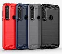 escovado caso magro armadura de silicone para LG V60 thinq G8 G8S G8x thinq Moto g8 além de desempenhar um casos de zoom robusto cobertura TPU suave coque kryt etui
