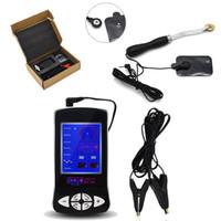 3in1 электрошок игрушки с зажимы для сосков груди массажер колесо прокрутки и Pad импульсная физиотерапия секс-игрушки для любителей I91-1-243