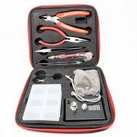 Nova RDA DIY ferramentas Kit Rebuildable Vapor Bobina Mestre Kits Ohm Medidor Kuro Kuroer Coil Jig Kbag para RBA Atomizer Bobinas Frete Grátis