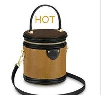 LOGO Designer Bolsas Bolsas Marca L0g0 Mulheres Designer moda bolsas de couro Top Quality Caso Cosmetic Bucket Bag