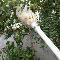 Jardim ferramentas fruta frutas selecionador de jardinagem Coleção escolhendo cabeça da ferramenta Fruit Catcher Dispositivo Greenhouse Fruit gancho