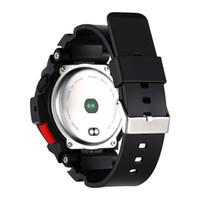 F6 Smart Watch IP68 wasserdichte Bluetooth Passometer Smart-Armband Dynamische Heart Rate Monitor Smart-Armbanduhr für Android IOS iPhone-Uhr