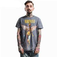 Cubierta del álbum de los hombres de verano para hombre de manga corta de la camiseta de la camiseta masculina de la moda fino
