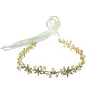 Charme d'entrepôt américain avec cristal strass perle cuivre fil de cuivre cristal bride mariage bride pièces de mariée accessoires de vigne bijoux