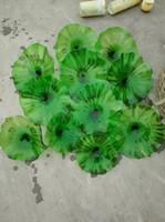 Итальянский Чихули Зеленый цвет Крыльцо выдувное стекло свет стены Креативный Hallway муранского стекла Стеновые плиты