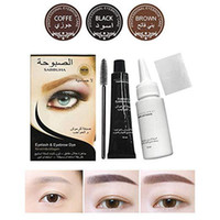 Microblading Eyebrow Tattoo Pen Brush Kit Waterproof Eyebrow Gel Tattoo Paint Makeup Eyebrow Dye Cream Makeup