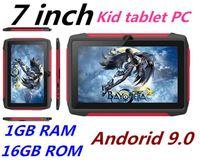Il più nuovo Tablet PC Q98 quad-core da 7 pollici 1024 * 600 schermo HD Android 9.0 di AllWinner A50 reale 1 GB di RAM 16 GB con Bluetooth wifi