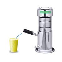 Heißer Verkauf Multifunktions-Edelstahl-Manueller Zuckerrohr-Entsafter-Pressemaschine Sugar-Cane Juicer-Extraktor orange Zitronen-Juicer