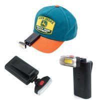 في الهواء الطلق التخييم المحمولة كليب قبعة ضوء ركوب يلة الصيد الإبداعية كشافات مصغرة رائعة المعمرة الصمام توفير الطاقة الخفيفة ZZA479