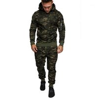 men tracksuit Autumn Splicing Zipper Print Sweatshirt busos ...