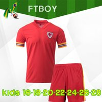 2020 wales kids soccer jersey euro cup 2020 wales football s...
