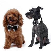 Hayvan Kravatlar Pet Köpek Çizgili Bow kravatlar Ayarlanabilir Köpek Kedi Yavrusu Pet Oyuncak Kid Bow Tie Kravat CFYZ104Q