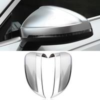 Auto Auto-Zubehör Seiten Rearviewspiegelabdeckung Feld-Aufkleber Trim Ersatz Gehäuse-Außendekoration für Audi A4 B9 2017-2020
