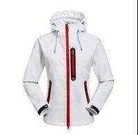 2019 고품질 Womens Fleece Apex Biionic Softshell 재킷 야외 방풍 및 방수 통기성 후드 코트